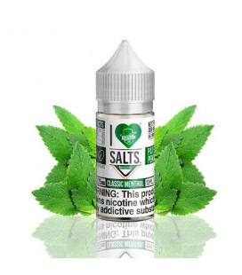 Mad Hatter I Love Salts Classic Menthol 10ml 20mg