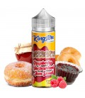 Raspberry Blackcurrant Jam Donut 100ml Kingston E-liquids
