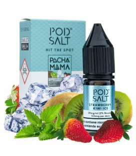 Strawberry Kiwi Ice Pod Salt Pacha Mama