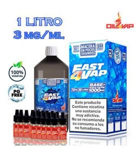 Base Fast4Vap Pack Oil4Vap
