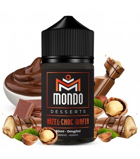 Hazel-Choc Wafer 50ml Mondo E-liquids