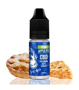 CBD Halo Apple Pie 100mg e-liquid 10ml