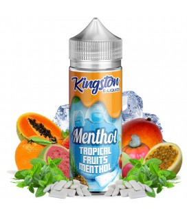 Tropical Fruits Menthol 100ml Kingston E-liquids
