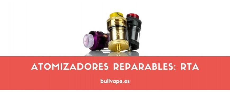 Atomizadores reparables: RTA